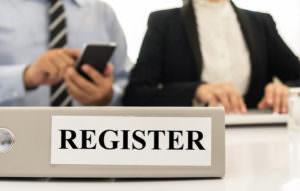 converence registration desk