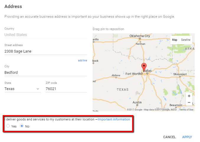 Google My Business Listing 2