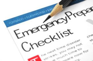 emergency action plan checklist
