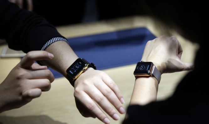 apple watch at an event