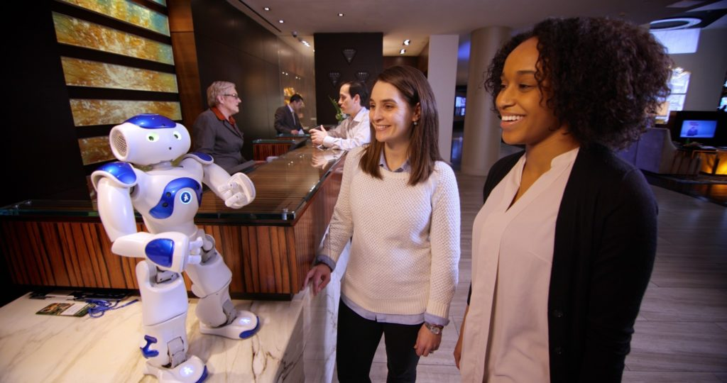 artificial intelligence robot Connie