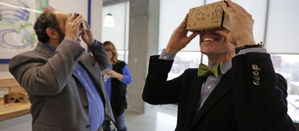 Using Google cardboard immersive technologies